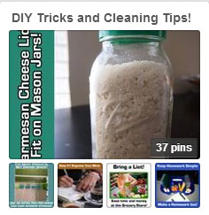 Go to this board and repin your favorite DIY Trick or Cleaning Tip Every Week!