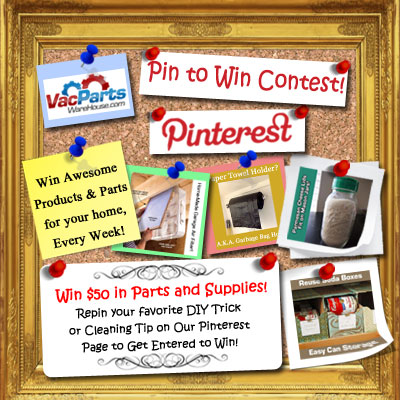 New Ongoing Weekly Contests for VacPartsWarehouse Parts and Supplies!