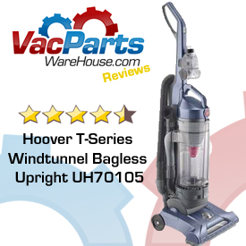Hoover WindTunnel UH70105 Bagless Vacuum Review