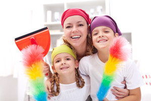Winter Cleaning With Kids